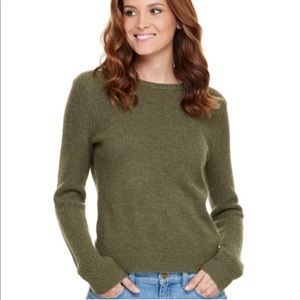 Vineyard Vines Green Crewneck Sweater and Cashmere